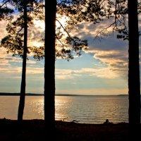 Вечернее озеро :: Наталия Зыбайло
