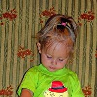 маленькая читательница.. :: Надежда Шемякина