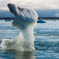 Предупреждение природы. Айсберги Исландии #2 :: Олег Неугодников