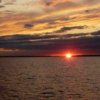 Закат на Онежском озере :: marina-rosinka2