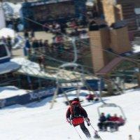 Одноногий лыжник :: Иван Волков