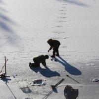 зимняя рыбалка :: Антонина Тыртышная (Гладких)