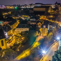 Nightlights in Luxembourg :: Alena Kramarenko