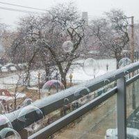 А пузыри в холодную погоду долго не лопаются :: MVMarina