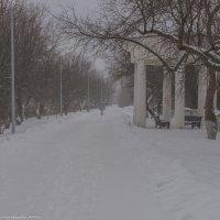 Зимняя набережная  Волги. :: Виктор Евстратов