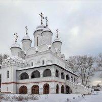 Спасо-Преображенская церковь села Большие Вяземы. :: Александр Назаров