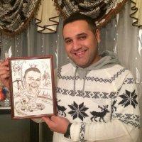 Шарж в подарок мужчине на день рождения :: Максим Смолянников