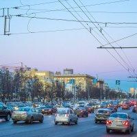 Москва, Ленинградский проспект. Перед восходом. :: Игорь Герман