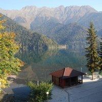Озеро Рица. Осень. :: Нелли *