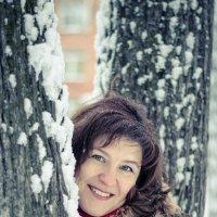 прогулка в зимнем парке :: Оксана Грищенко