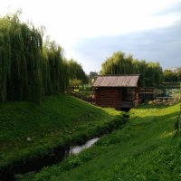 Мельница на реке Жужа :: Татьяна Колганова