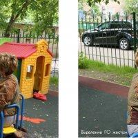 Пастернак на карусели (название заимств). Автор фото Михаил Зобов. :: Ирина Хан