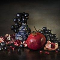 Гранат и виноград :: Светлана Горбачёва