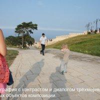 3_8 Фотография с контрастом и диалогом трёхмерных и двухмерных объектов композиции. :: Алексей Епанешников
