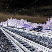 Холодные киллометры... :: Андрей Головкин