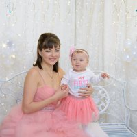Мама с дочей :: марина алексеева