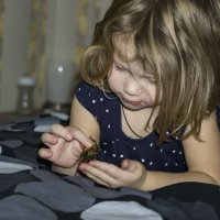 Ребёнок занят :: Ирина Остроухова