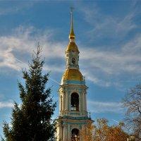Колокольня Никольского морского собора... :: Sergey Gordoff