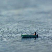 Рыбак в миниатюре :: Сергей Шаврин