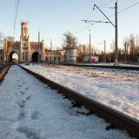 Вокзал Новый Петергоф :: Владимир Засимов