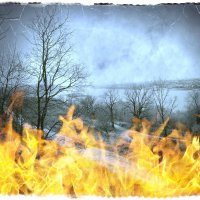 Сжигание упаднических настроений ... :: Андрей Головкин