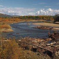 Главная река Тункинской  долины... :: Александр Попов