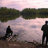 счастье рыбака... :: александр дмитриев