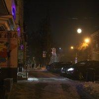 Полнолуние в Перми :: Валерий Конев