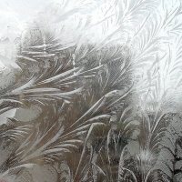 Зимние узоры на стекле . :: Мила Бовкун