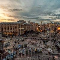 Київ Площа незалежності :: Cлава Украине