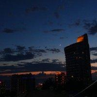 в городе Сочи темные ночи :: Ольга Куликовская /Olga  Kulikovskaya