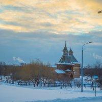 Зимнее утро в Коломенском. Москва. :: Игорь Герман