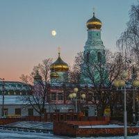 Зимний вечер. :: Андрей Лобанов