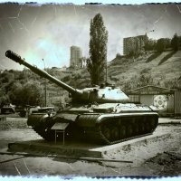 Тяжелый танк Т-10М :: Андрей Головкин