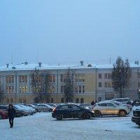 Падал легкий снег :: Елена Миронова