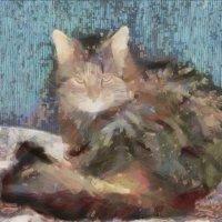 Котя в акварели и любви.... :: Tatiana Markova