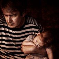 Папа с сыном :: Кристина Красникова