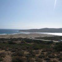 Греция . Родос. Мыс Прасониси. Слева - Средиземное море, справа - Эгейское. :: Лариса (Phinikia) Двойникова