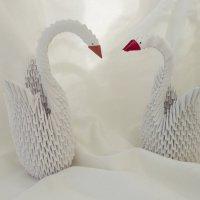 лебеди, оригами :: Алексей Пивоваров