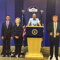 В Белом доме на трибуне! :: Андрей Крючков