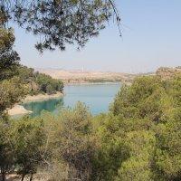 озеро Guadalhorce :: Olga Kalyapina