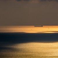 море карабль закат :: Vasilich buratino