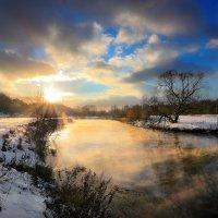 Речные закаты декабря....2 :: Андрей Войцехов