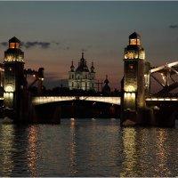 Большеохтинский мост :: Владимир Кабанов