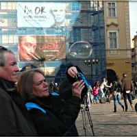 Прага.Мыльный пузырь :: Galina Belugina