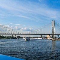Нева. Мост. :: Владимир Безбородов