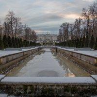 Петергоф, зима :: Ярослав Трубников