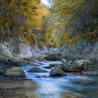 Осень в каньоне. :: Александр Криулин