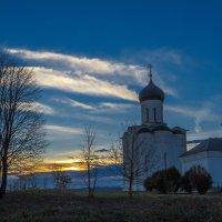 Закат в Боголюбово :: Сергей Цветков