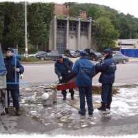 После показательных учений... :: Андрей Головкин